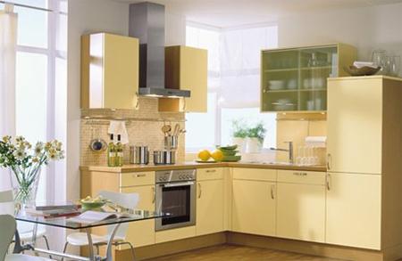 Màu vàng thích hợp nhất để sơn phòng bếp. Ảnh: Digsdigs.