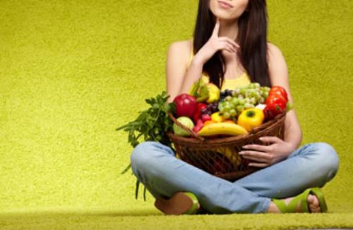 Ảnh. Giữ sức khỏe bằng một chế độ ăn giàu trái cây, rau củ và hạn chế lượng thịt tiêu thụ hàng ngày. Ảnh: learnvest.com)