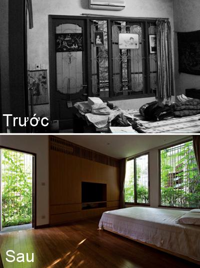 Phòng ngủ bề bộn biến mất với hệ thống