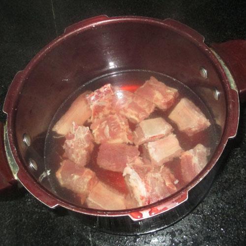 Canh rau cần nấu khoai tây 1