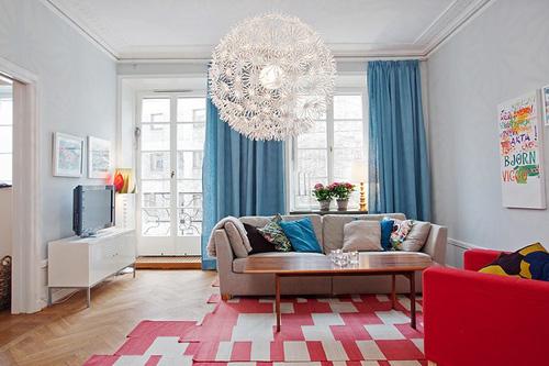 Những căn phòng xanh đỏ đẹp mắt 3