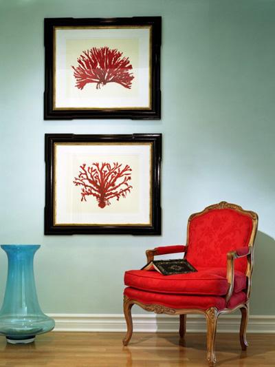 Những căn phòng xanh đỏ đẹp mắt 8