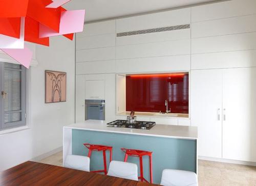 Những căn phòng xanh đỏ đẹp mắt 4