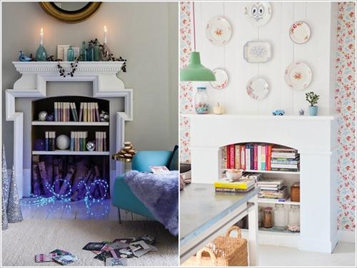 Sắp xếp tủ sách cho nhà thêm xinh 8