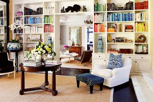Sắp xếp tủ sách cho nhà thêm xinh 1