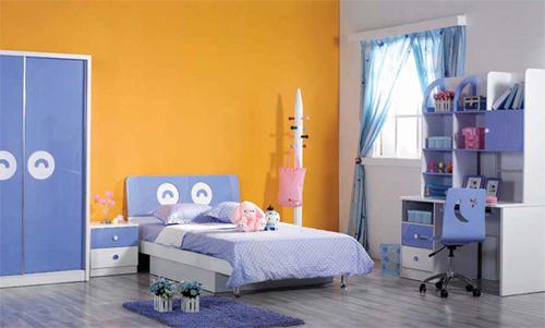 Phòng của bé nên có màu sắc tươi sáng giúp nguồn vượng khí được lưu thông.