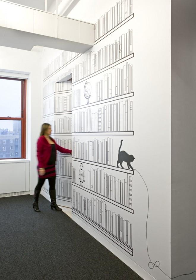 Những bức tường văn phòng truyền cảm hứng 2