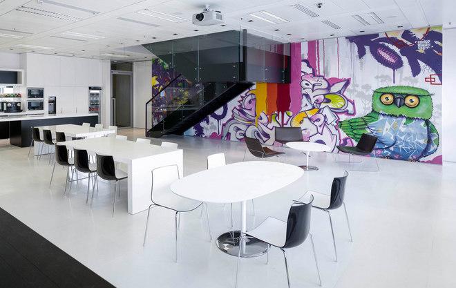 Những văn phòng tuyệt đẹp chứa đủ quán cà phê, nhà hàng 8