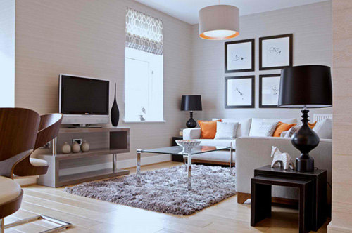 Kê tivi siêu mỏng trong phòng khách 1