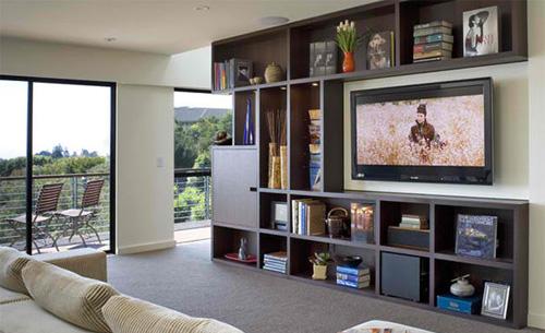 Kê tivi siêu mỏng trong phòng khách 8