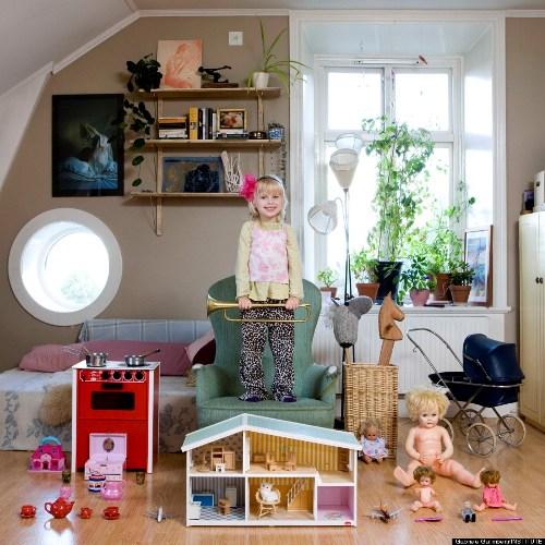 Tyra, 3 tuổi, đến từ Stockholm, Thụy Điển.