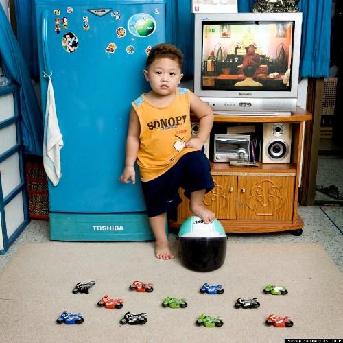 Watcharapon, 4 tuổi (Thủ đô Bangkok, Thái Lan)