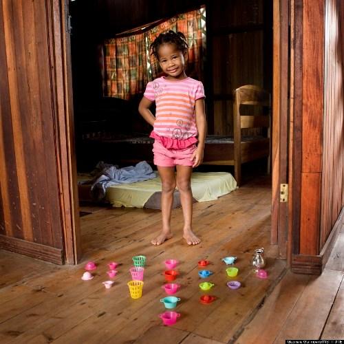 Naya, công dân 3 tuổi của đất nước Costa Rica.