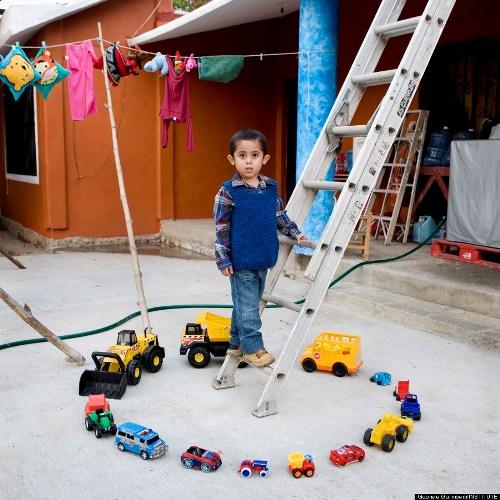 Abel, 4 tuổi, người Mexico.