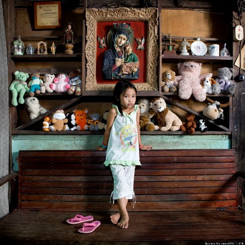 Allenah, 4 tuổi, Philippines.