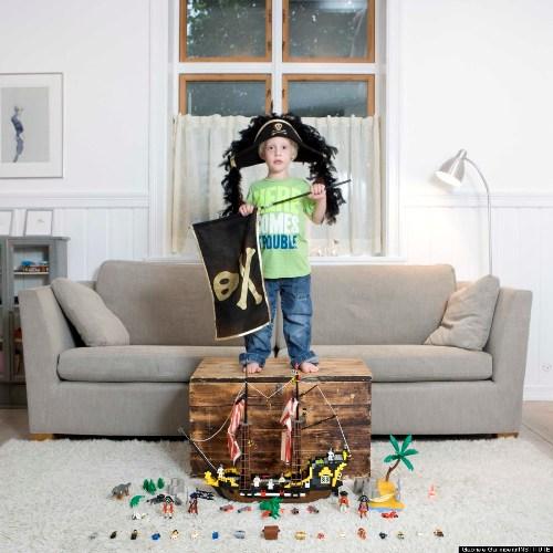 Mikkel, 3 tuổi, Na Uy