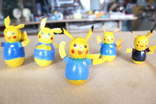 Những chú Pokemon màu vàng dễ thương trong phim hoạt hình Pikachu được liên đoàn bóng đá Nhật Bản chọn làm đại diện cho đội tuyển quốc gia của họ tại World Cup 2014 sắp diễn ra.