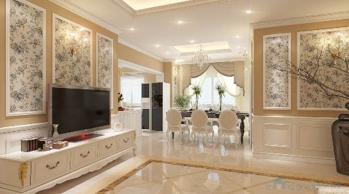 bộ phận sales kiến trúc nội thất hợp lý cho căn hộ cao tầng 150 m2 5