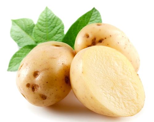 Khoai tây bào cung cấp nhiều tinh bột. Ảnh: Hồng Diễm