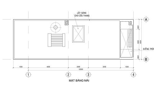 Tầng lầu là 1 phòng ngủ chính, và một phòng ngủ con, không gian giặt phơi,