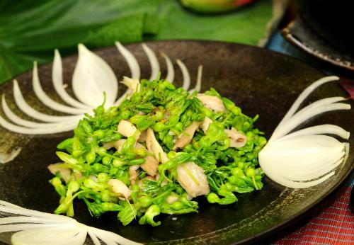 Món ăn rất bình dân, đơn giản và dễ thực hiện. Ảnh: Hồng Diễm