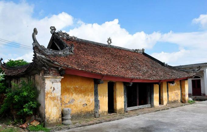 Đình làng 800 năm tuổi thờ danh tướng Yết Kiêu