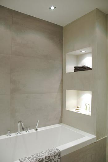 Hốc tường trong nhà vệ sinh.
