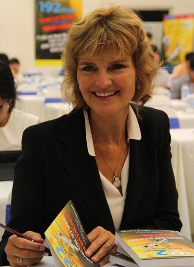Annette muốn mang những trải nghiệm cuộc sống của mình đến mọi người.