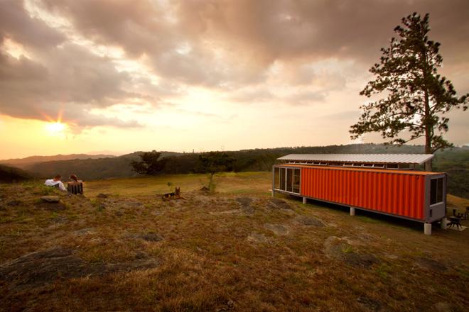 Vẻ đẹp của những ngôi nhà làm từ container