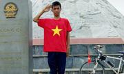 Hành trình khám phá tuổi 18 của chàng trai đạp xe xuyên Việt