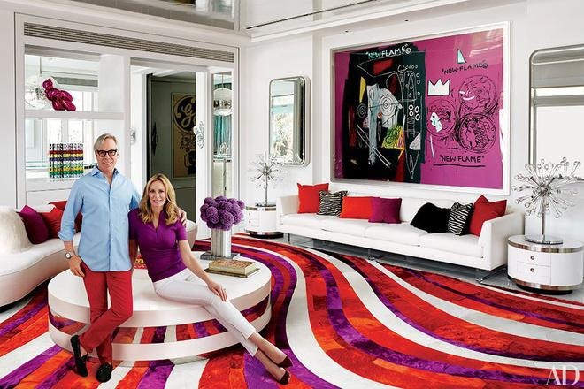 Biệt thự gây ấn tượng mạnh của nhà thiết kế Tommy Hilfiger