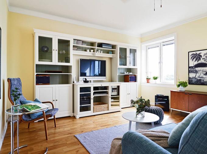 Bố trí căn hộ 80 m2 với 2 phòng ngủ