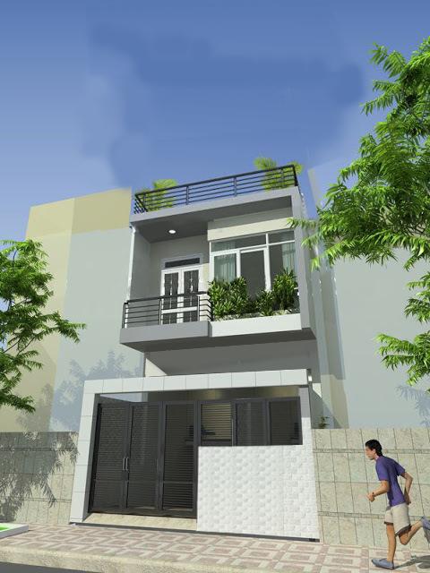 Tư vấn chi phí xây nhà 2 tầng diện tích 80m2 - diện tích đất 5mx16m
