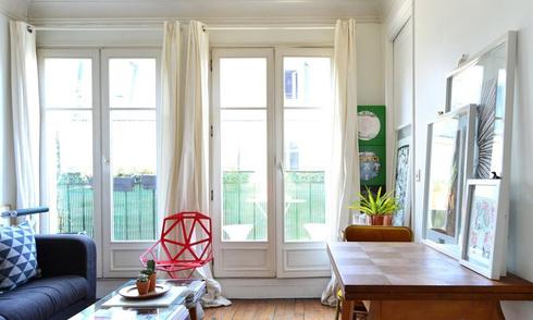 Căn hộ nhỏ của một nhà văn ở Paris