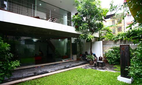 Nhà trong ngõ hẹp của một nghệ sĩ