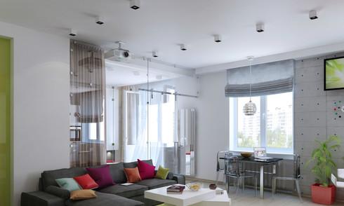 Bố trí hợp lý cho căn hộ 47 m2