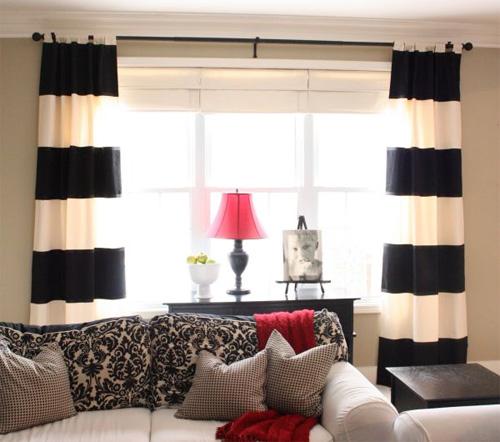 Thay đổi một căn phòng chỉ bằng rèm cửa