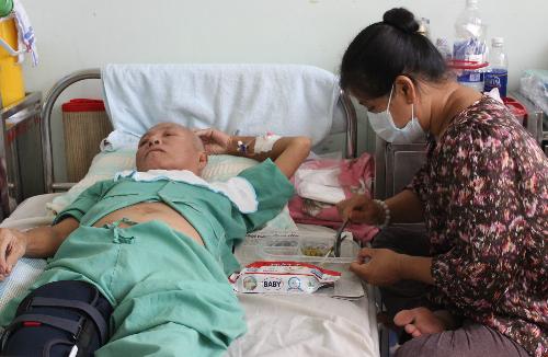 80% bệnh nhân suy dinh dưỡng khi nằm viện