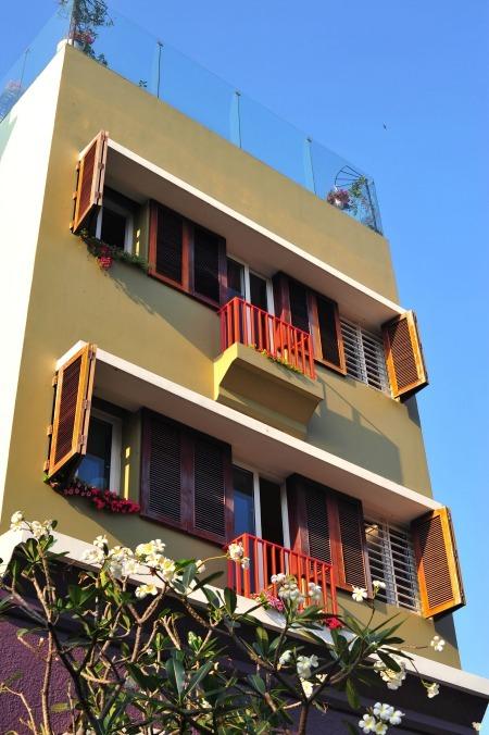 Không gian nhiều tiện ích trong nhà phố 'Bọt Biển'