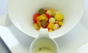 'Salad tình yêu' làm từ trái cây