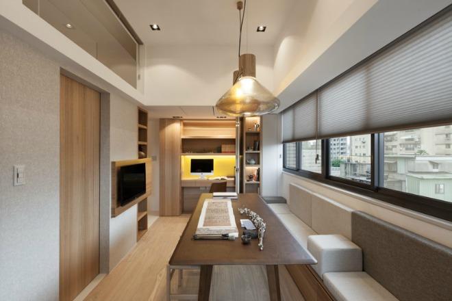 3 người sống tiện nghi trong nhà 26 m2