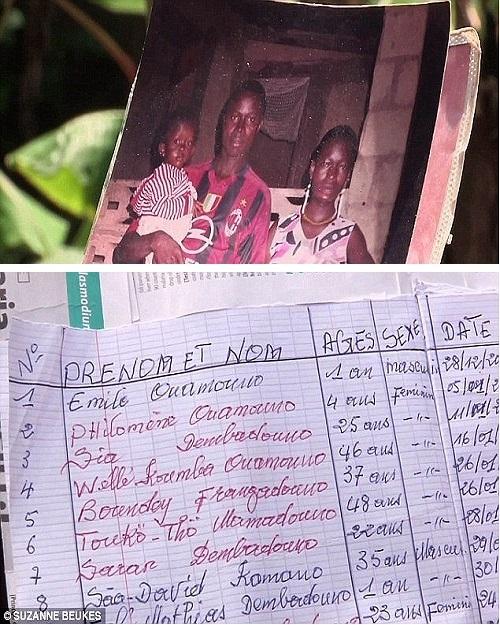 Bé trai 2 tuổi Emile được ghi nhận là ca nhiễm Ebola đầu tiên trong đợt bùng phát hiện tại. Ảnh: news24.org.uk