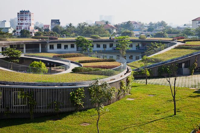 Trường mầm non cho con công nhân vào top 10 trường đẹp và ý nghĩa