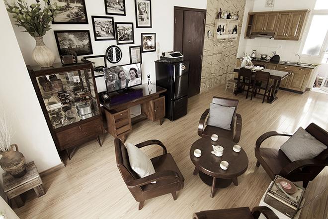 Tân trang căn hộ vintage với chi phí 30 triệu đồng