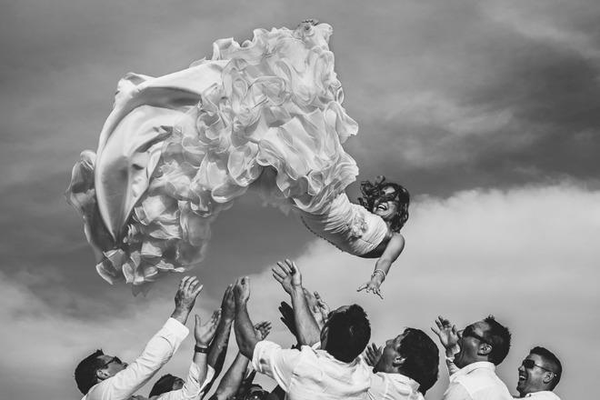 Những bức ảnh cưới đoạt giải 2014-5
