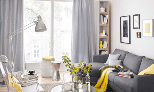 Những phòng khách nhỏ nhưng ấm cúng