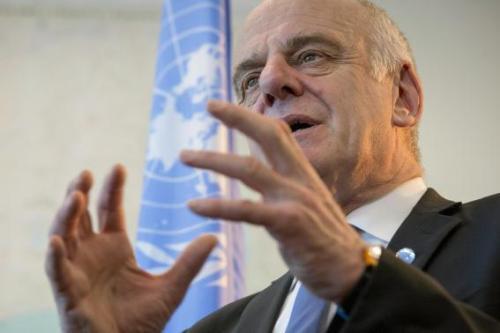 Đặc phái viên Liên Hợp Quốc về Ebola cho biết dịch Ebola đang có dấu hiệu chậm lại. Ảnh: Reuters