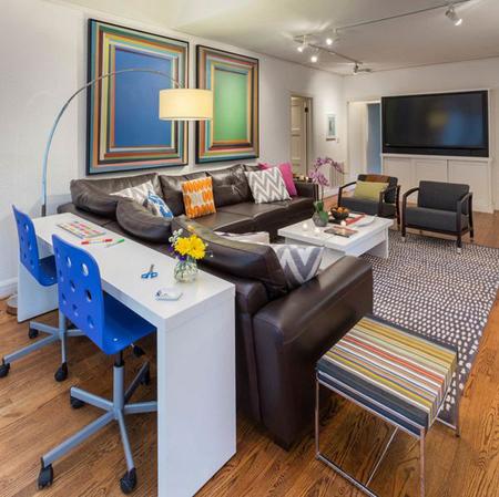 Những mẫu bàn ghế tiết kiệm diện tích cho nhà hẹp 2