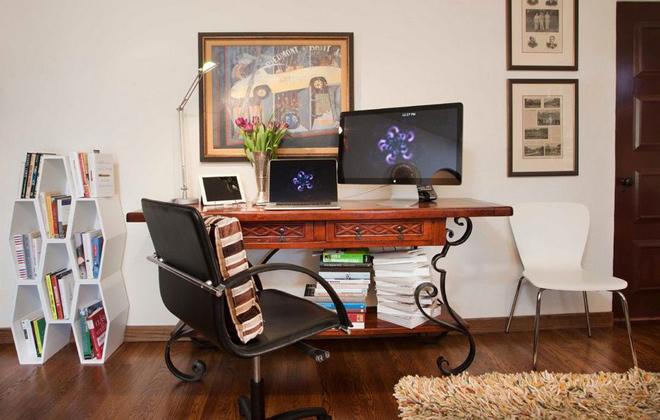 Những mẫu bàn ghế tiết kiệm diện tích cho nhà hẹp 6