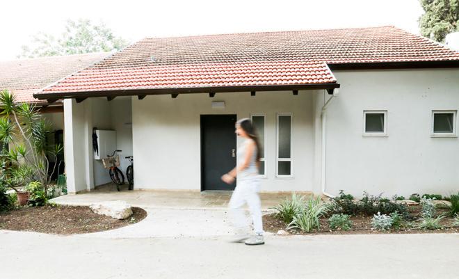 Bố trí nhà một tầng 30 m2 cho hai mẹ con